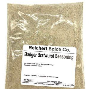 badger bratwurst