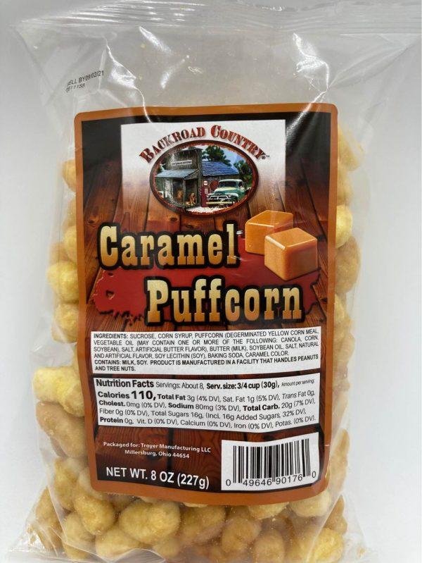 caramel puffs change desc