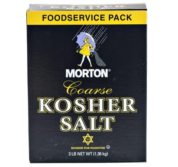 Kosher Coarse Salt - 3lbs. -0