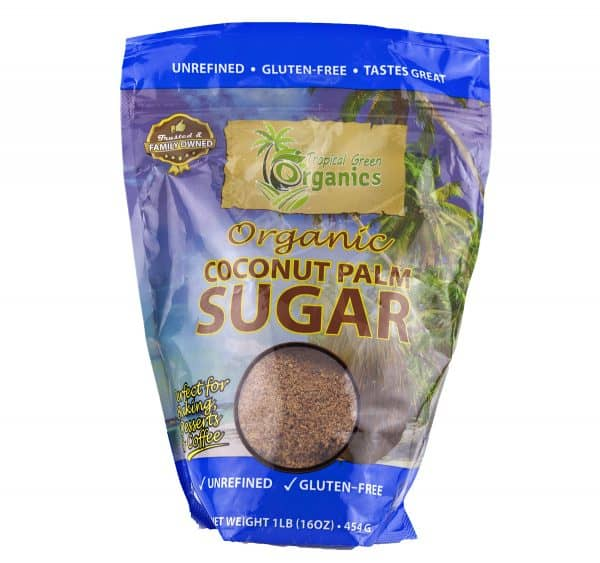 Organic Coconut Palm Sugar- 16 oz.-0