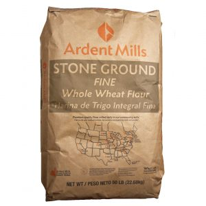 Fine Whole Wheat Flour Stone Ground -0