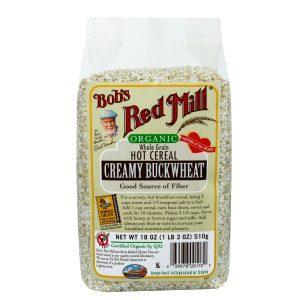 Bob's Red Mill Gluten Free & Organic Creamy Buckwheat Hot Cereal 18 oz. -0
