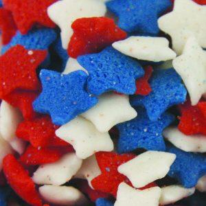 Quins Patriotic Star Shapes (3 oz.)-0
