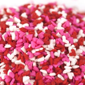 Quins Heart Pink/Red/White/ Mini Shapes (4 oz.)-0