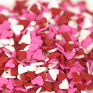 Quins Heart Pink/Red/White Shapes (4 oz.)-0