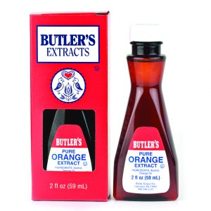 Butler Pure Orange Extract 2 oz. -0
