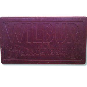 Wilbur Bronze Metal Semi- Sweet Chocolate Coating -0