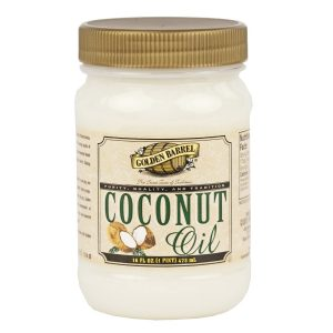 Coconut Oil, Golden Barrel - 16 oz.-0