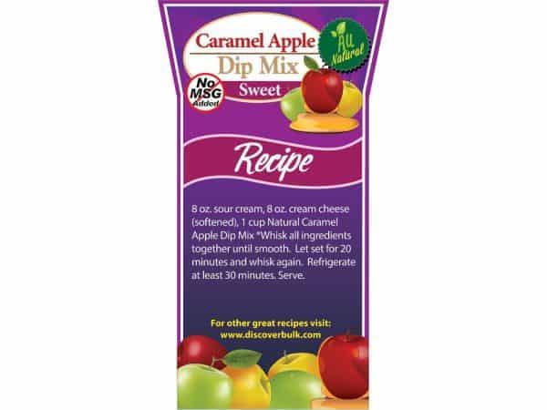 Natural Caramel Apple Dip Mix-0