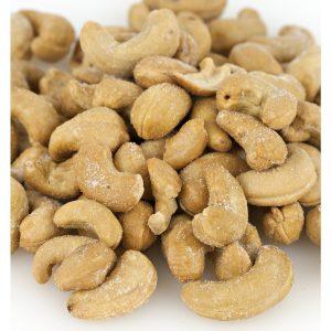 Whole Roasted & Salted Cashews -0