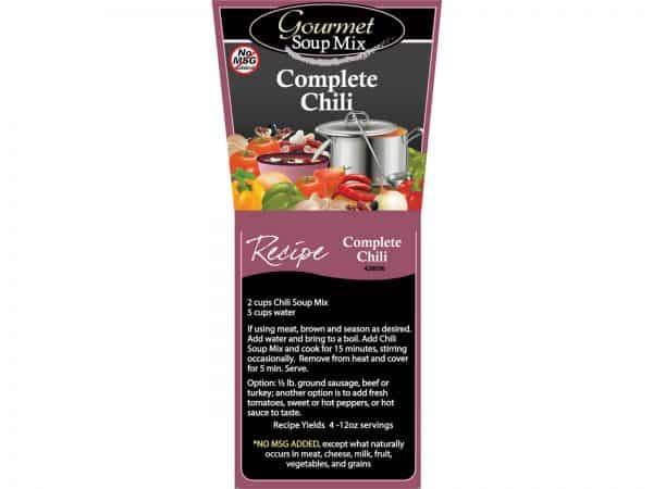 Complete Chili Soup Mix No MSG-0