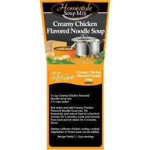 Creamy Chicken Noodle Soup-0
