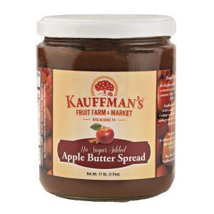 Apple Butter w/ Sugar No Spice 17 oz. -0