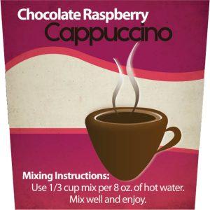 Chocolate Raspberry Cappuccino -0