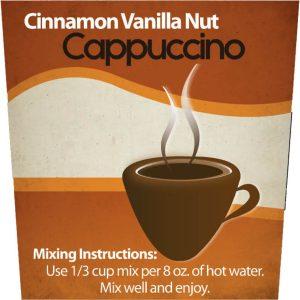 Cinnamon Vanilla Nut Cappuccino Mix -0