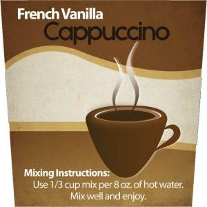 French Vanilla Cappuccino Mix -0