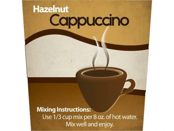 Hazelnut Cappuccino Mix-1299