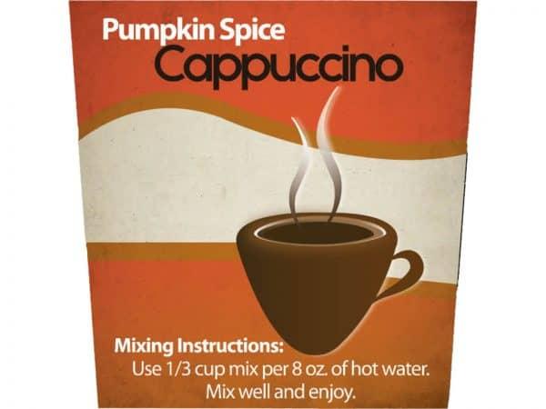 Pumpkin Spice Cappuccino Mix -1305