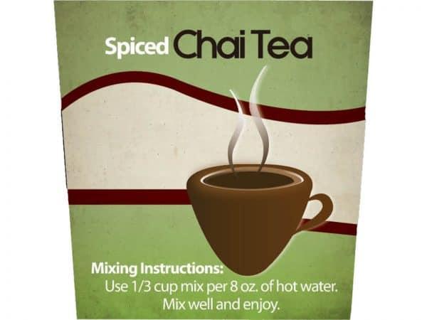 Spiced Chai Tea -0