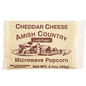 Amish Country Microwave Popcorn - Cheddar Cheese - 10 pack - 3.5 oz.-0