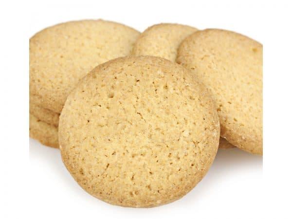 Lemon Snap Cookies -0