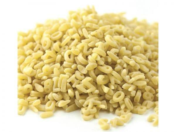 Alphabet Pasta-0