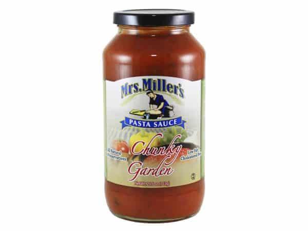 Chunky Garden Pasta Sauce - 25.5 oz. -0