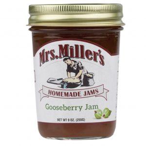 Mrs. Miller's Gooseberry Jam - 8 oz. -0