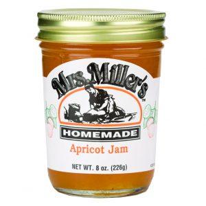Mrs. Miller's Apricot Jam - 8 oz. -0
