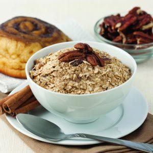 Cinnamon Pecan Sticky Bun Oatmeal -0