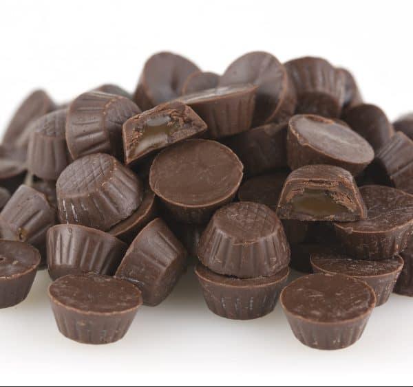 Mini Milk Chocolate Caramel Cups -0