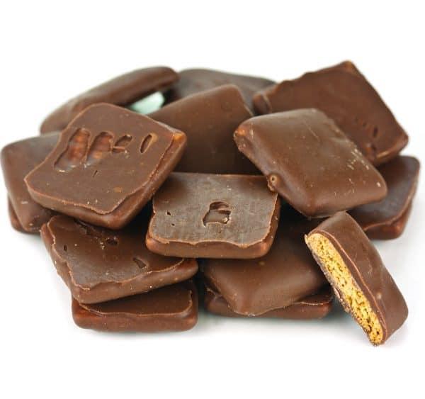 Milk Chocolate Covered Graham Squares -0