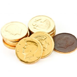 Chocolate Gold Coins -0