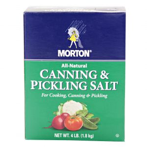 Pickling and Canning Salt - 4 lb.-0