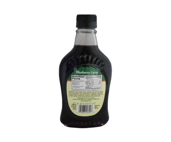Maple Grove Farms Blueberrberry Syrup - 8.5 oz.-1685