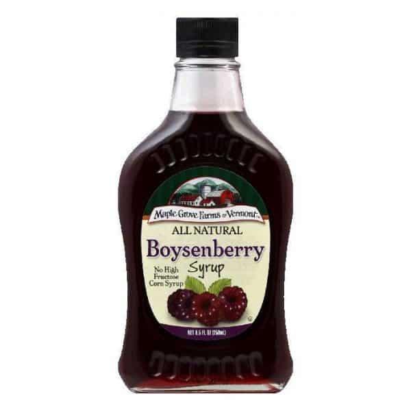 Maple Grove Farms Boysenberry Syrup - 8.5 oz.-0
