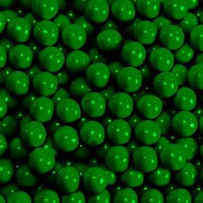 Dark Green Sixlets -0