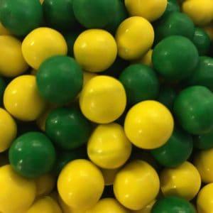 Green & Gold Sixlets -0