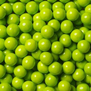 Lime Green Sixlets -0