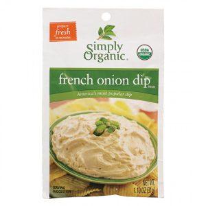 Simply Organic French Onion Dip Mix - 1.10 oz. -0