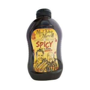 Mad Dog & Merril Spicy BBQ Sauce- 23 oz.-0